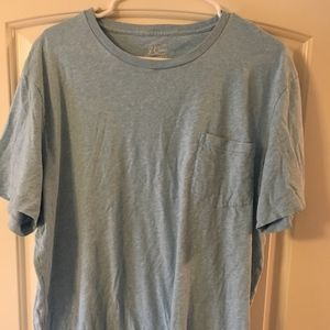 J. Crew broken-in crewneck shirt - TALL